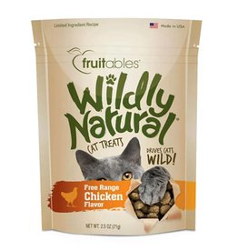 Fruitables Fruitables Wildly Natural 2.5 oz Cat Treats