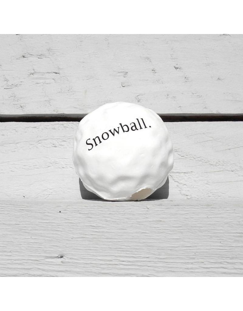 Planet Dog Holiday Toys Orbee Tuff Snowball One Size