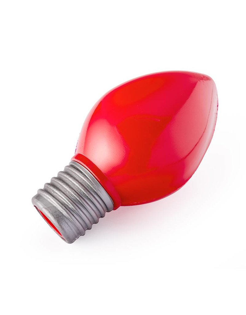 Planet Dog Orbee Tuff Holiday Bulb Red