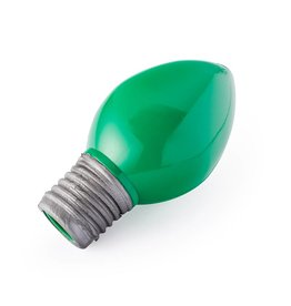 Planet Dog Orbee Tuff Holiday Bulb Green