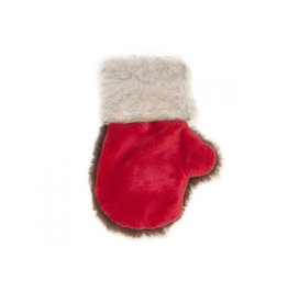West Paw Design Dog Christmas Toys 2017 Mitten