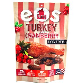 Plato Plato EOS Turkey & Cranberry Jerky Dog Treats