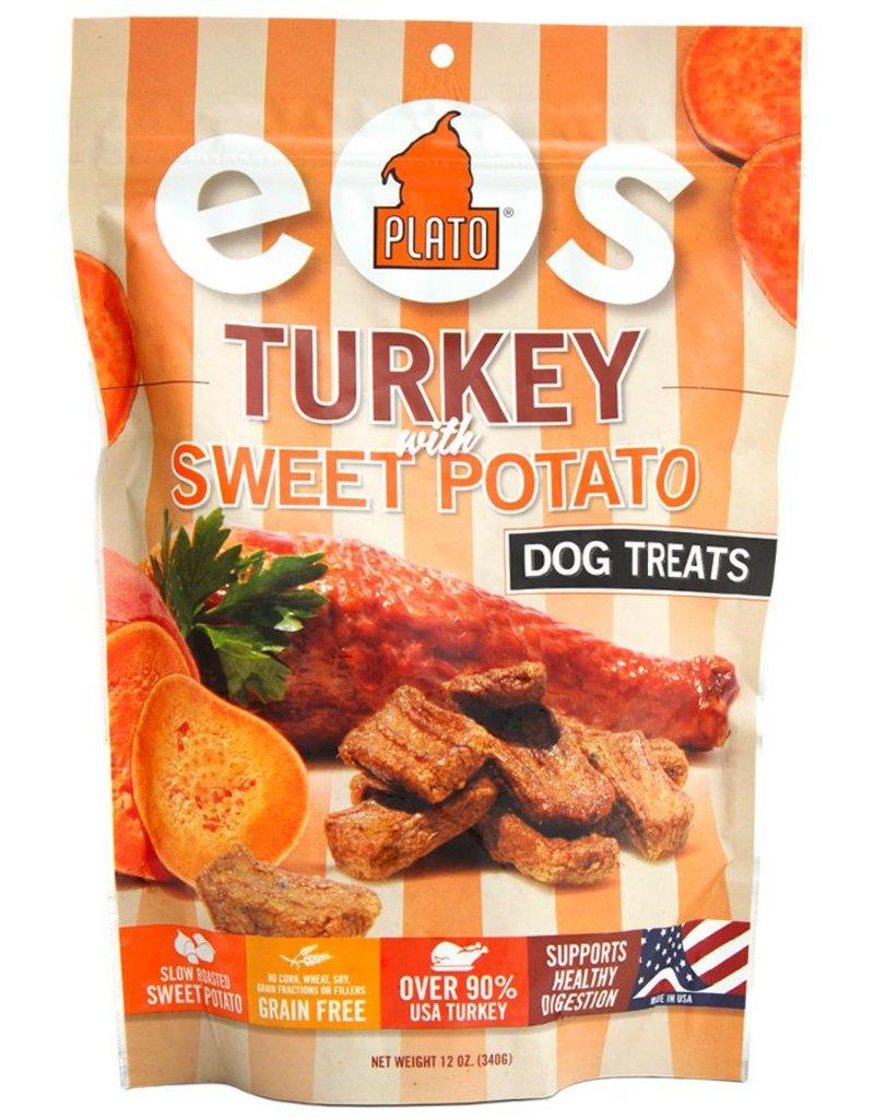 Plato Plato EOS Turkey & Sweet Potato Jerky Dog Treats