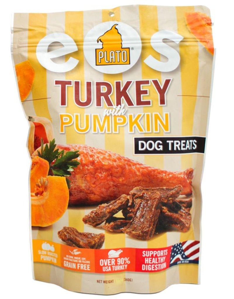 Plato Plato EOS Turkey & Pumpkin Jerky Dog Treat