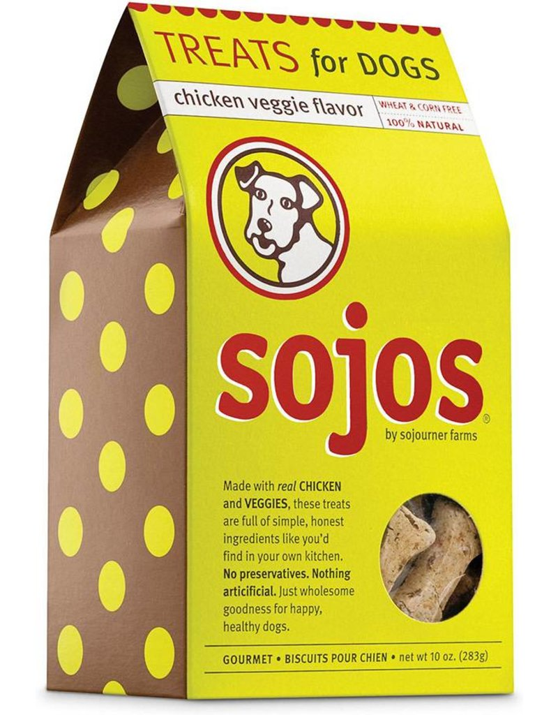 Sojos Crunchy Dog Treats 10 oz