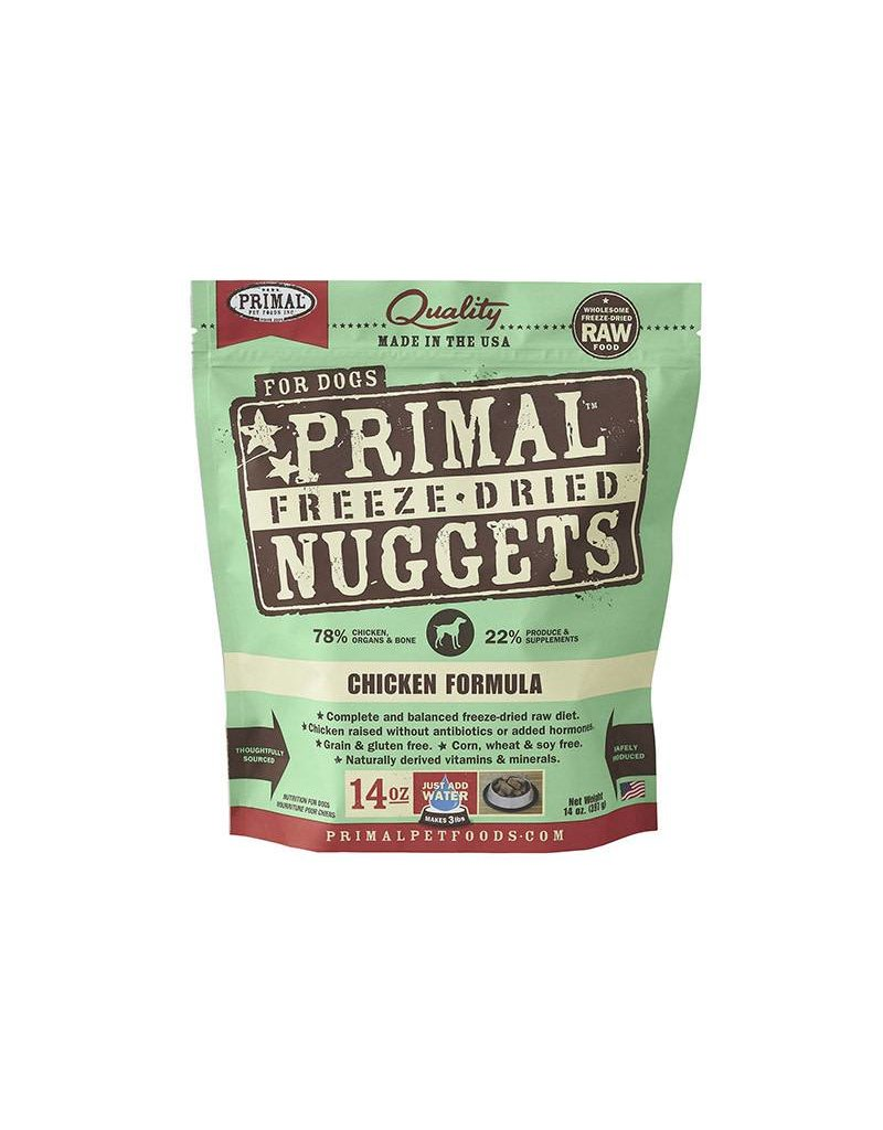 Primal Freeze Dried Dog Nuggets 14 oz