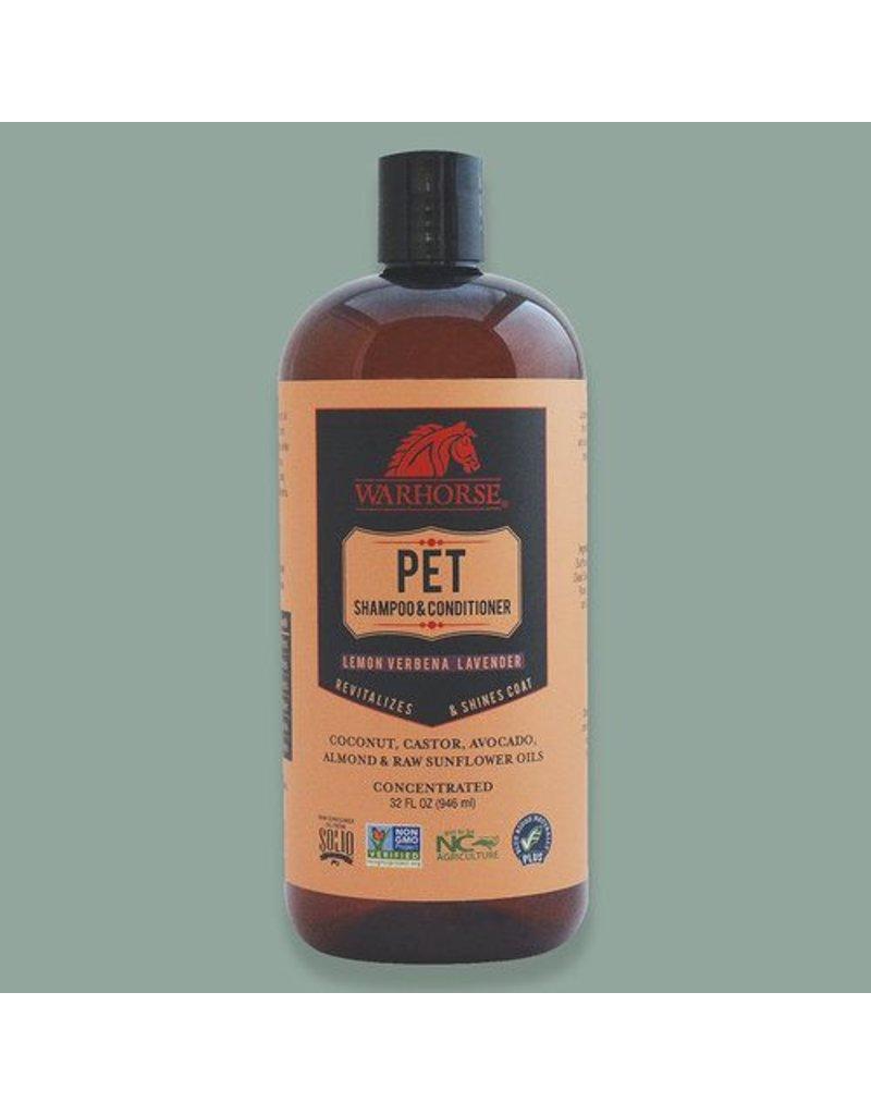 Warhorse Pet Shampoo & Conditioner Lemon Verbena Lavender