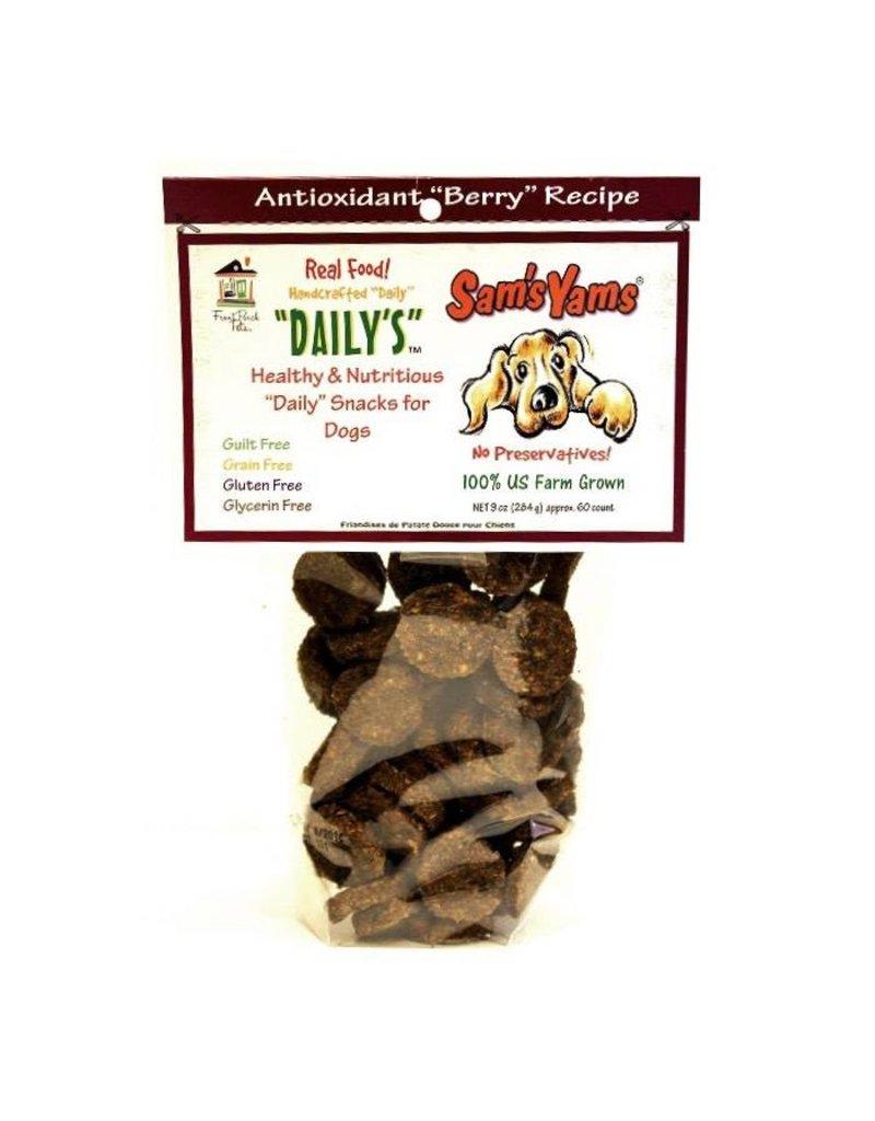Sam's Yam's Daily's Dog Treats 9 oz