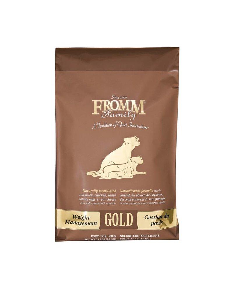 Fromm Family Gold Dog Kibble 33 lb