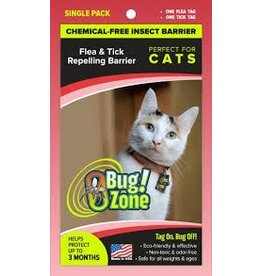 Zero Bug Zone Products  Flea & Tick Single Pack for Cats