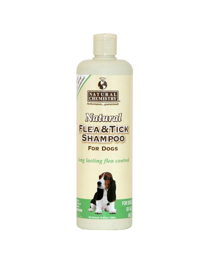 Natural Chemistry Flea & Tick Shampoo For Dogs 16.9oz