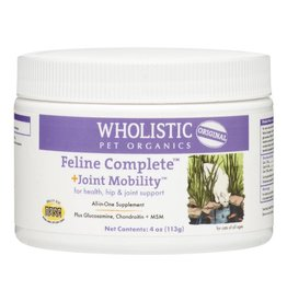 Wholistic Pet Organics CAT Feline Complete + Joint Mobility 4 oz