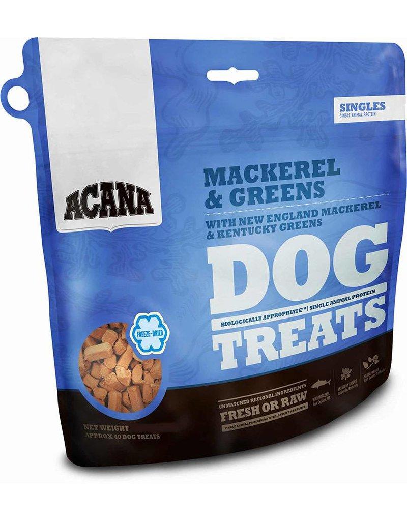 Champion Pet Foods Acana Freeze Dried Dog Treats 1.25 oz Mackerel & Greens