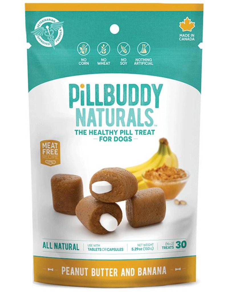 Complete Natural Nutrition Pill Buddy Peanut Butter & Banana 30 count