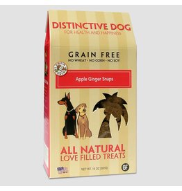 Himalayan Distinctive Dog Treats 14 oz Grain Free Apple Ginger Snaps