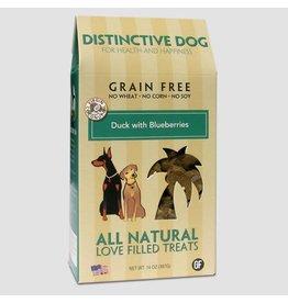 Himalayan Distinctive Dog Treats 14 oz Grain Free Duck w/Blueberries