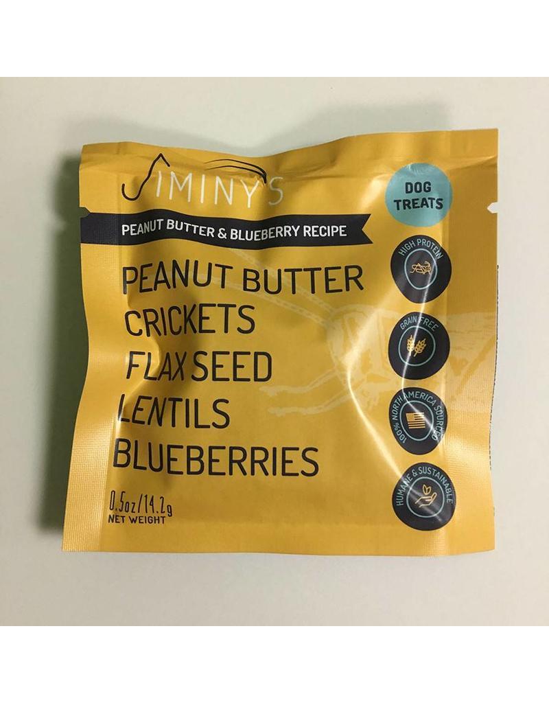 Jiminy's Jiminy's Cricket Treats .5 oz Peanut Butter & Blueberry