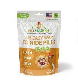 Pillstashio Pillstashios Pill Stasher LARGE Capsules Cranberry Turkey