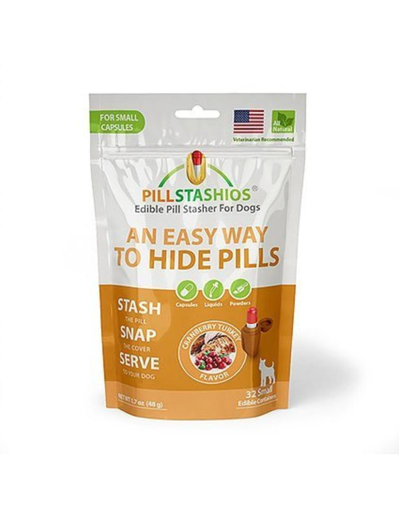 PillStashios Pill Stasher SMALL Capsules Cranberry Turkey