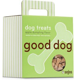 Sojo's Crunchy Dog Treats 8 oz Good Dog Apple Dumpling