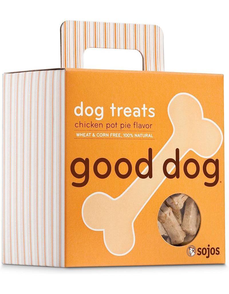 Sojo's Sojo's Crunchy Dog Treats 8 oz Good Dog Chicken Pot Pie