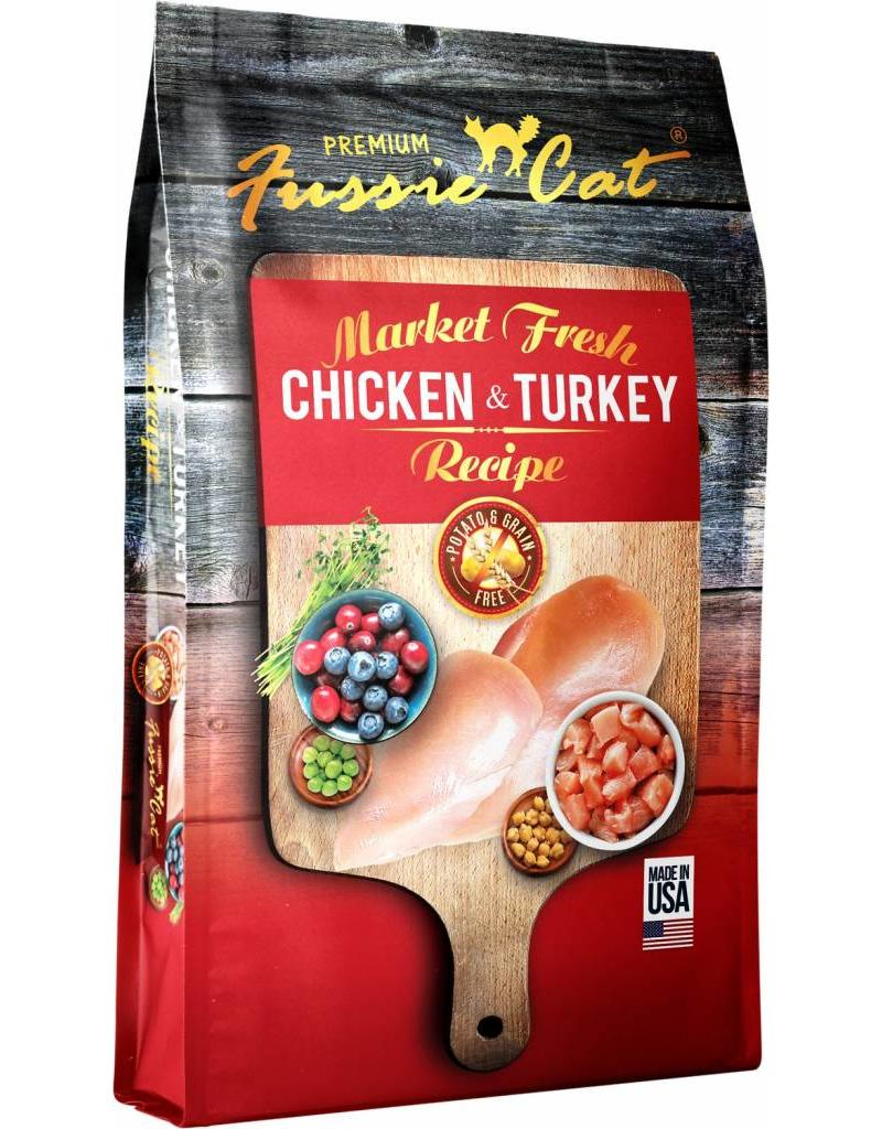 Fussie Cat Dry Food Chicken & Turkey 10 lbs