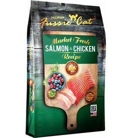 Fussie Cat Dry Food Salmon & Chicken 10 lbs