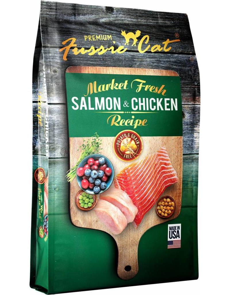 Fussie Cat Fussie Cat Dry Food Salmon & Chicken 10 lbs