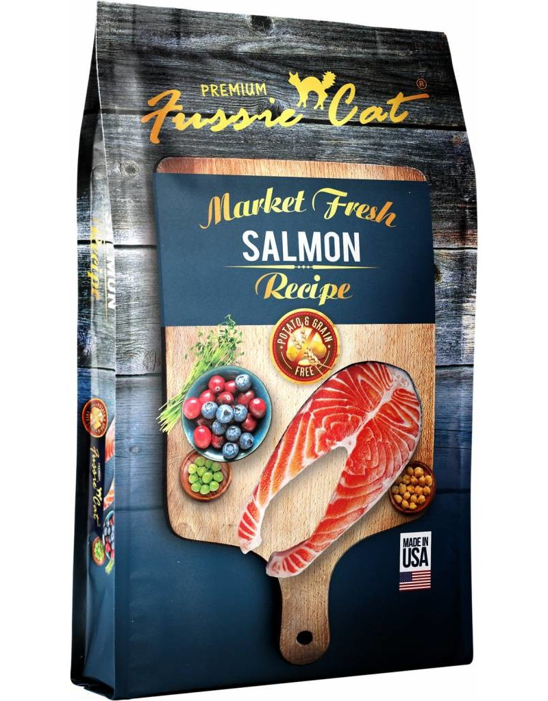 Fussie Cat Fussie Cat Dry Food Salmon 10 lbs