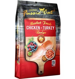 Fussie Cat Dry Food Chicken & Turkey 4 lbs