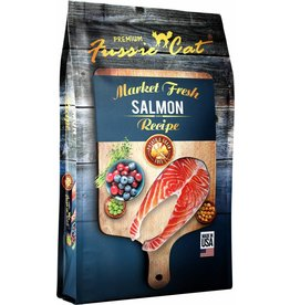 Fussie Cat Dry Food Salmon 4 lbs