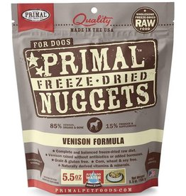 Primal Primal Freeze Dried Dog Nuggets 5.5 oz  Venison
