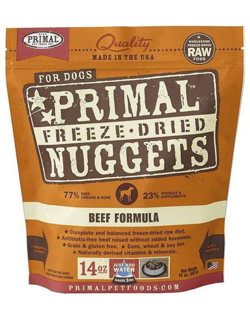 Primal Primal Freeze Dried Dog Nuggets 14 oz Beef