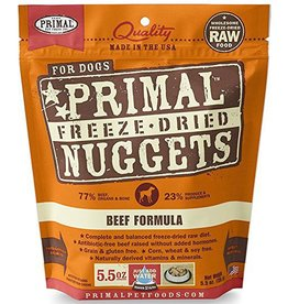 Primal Primal Freeze Dried Dog Nuggets 5.5 oz  Beef