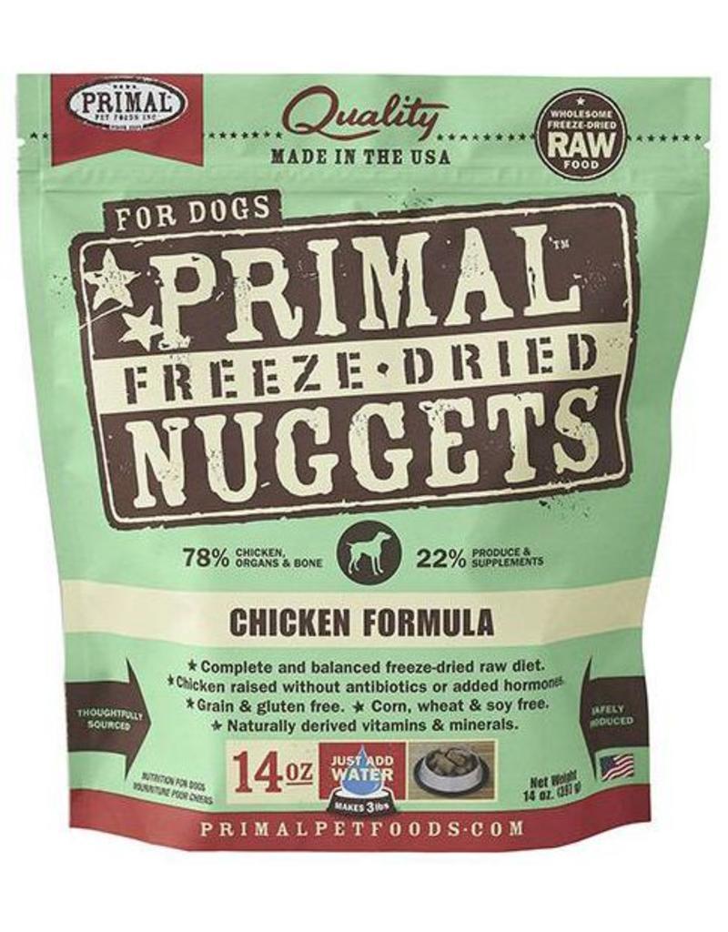 Primal Primal Freeze Dried Dog Nuggets 14 oz Chicken