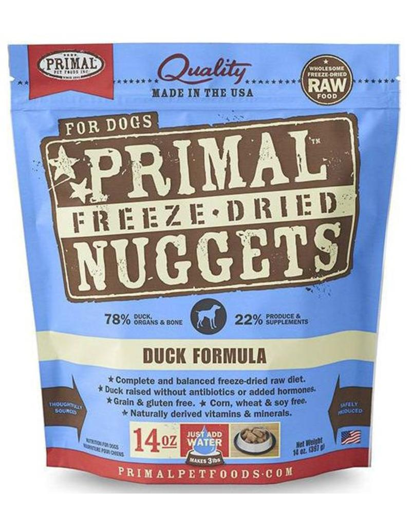 Primal Primal Freeze Dried Dog Nuggets 14 oz Duck