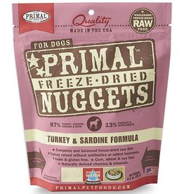 Primal Primal Freeze Dried Dog Nuggets 14 oz Turkey & Sardine