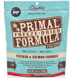 Primal Primal Freeze Dried Cat Nuggets 5.5 oz  Chicken & Salmon