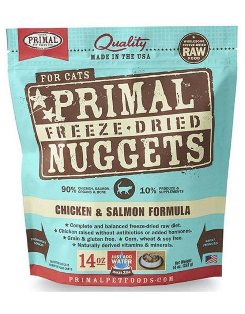 Primal Primal Freeze-Dried Cat Nuggets 14 oz Chicken & Salmon