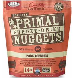Primal Primal Freeze-Dried Cat Nuggets 14 oz Pork