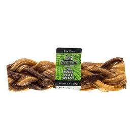 "Red Barn Dog Bully Sticks  7"" Bully Flat Braid"