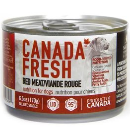 Petkind Canada Fresh Canned Dog Food Red Meat 6 oz single