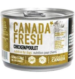 Petkind Canada Fresh Canned Dog Food Chicken 6 oz single