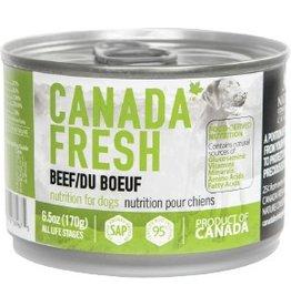 Petkind Canada Fresh Canned Dog Food Beef 6 oz single