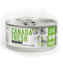 Petkind Canada Fresh Canned Cat Food Beef 5.5 oz single