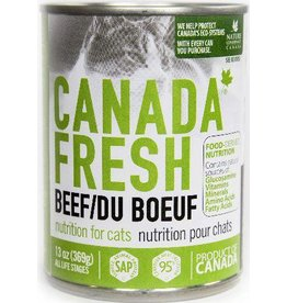 Petkind Canada Fresh Canned Cat Food Beef 13 oz single