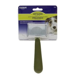 Coastal Safari Dog Soft Slicker Brush - Small