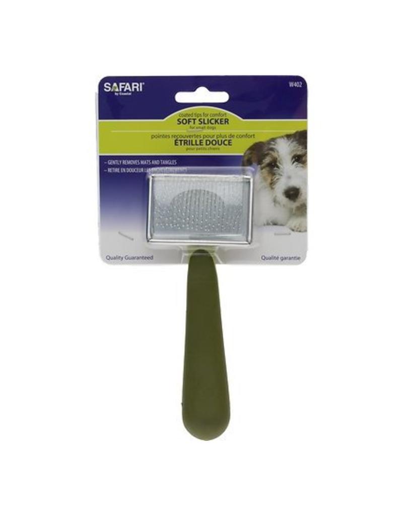 Coastal Safari Dog Soft Slicker Brush - Small