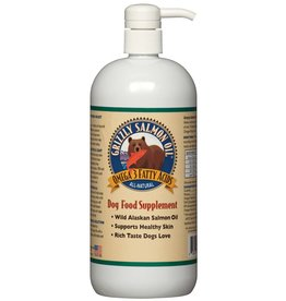 Grizzly Wild Alaskan Salmon Oil For Dogs 4 oz