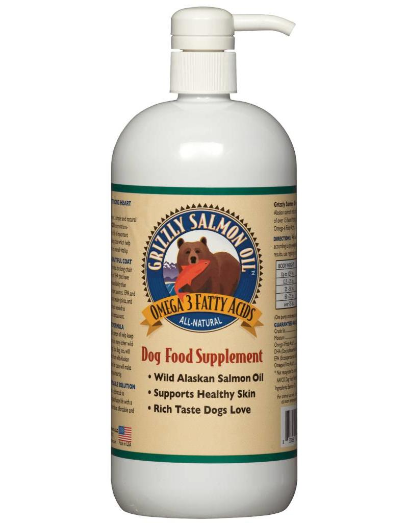 Grizzly Grizzly Wild Alaskan Salmon Oil For Dogs 8 fl oz